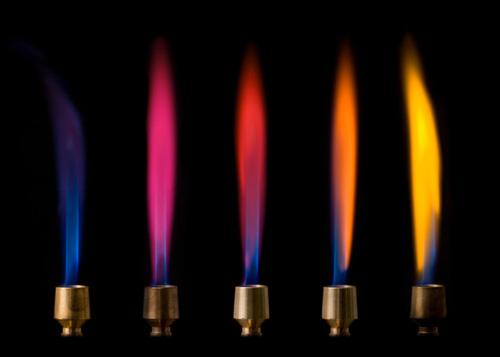 Flammes colorées   scienceamusante.net