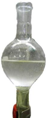 Après extraction par le dichlorométhane.